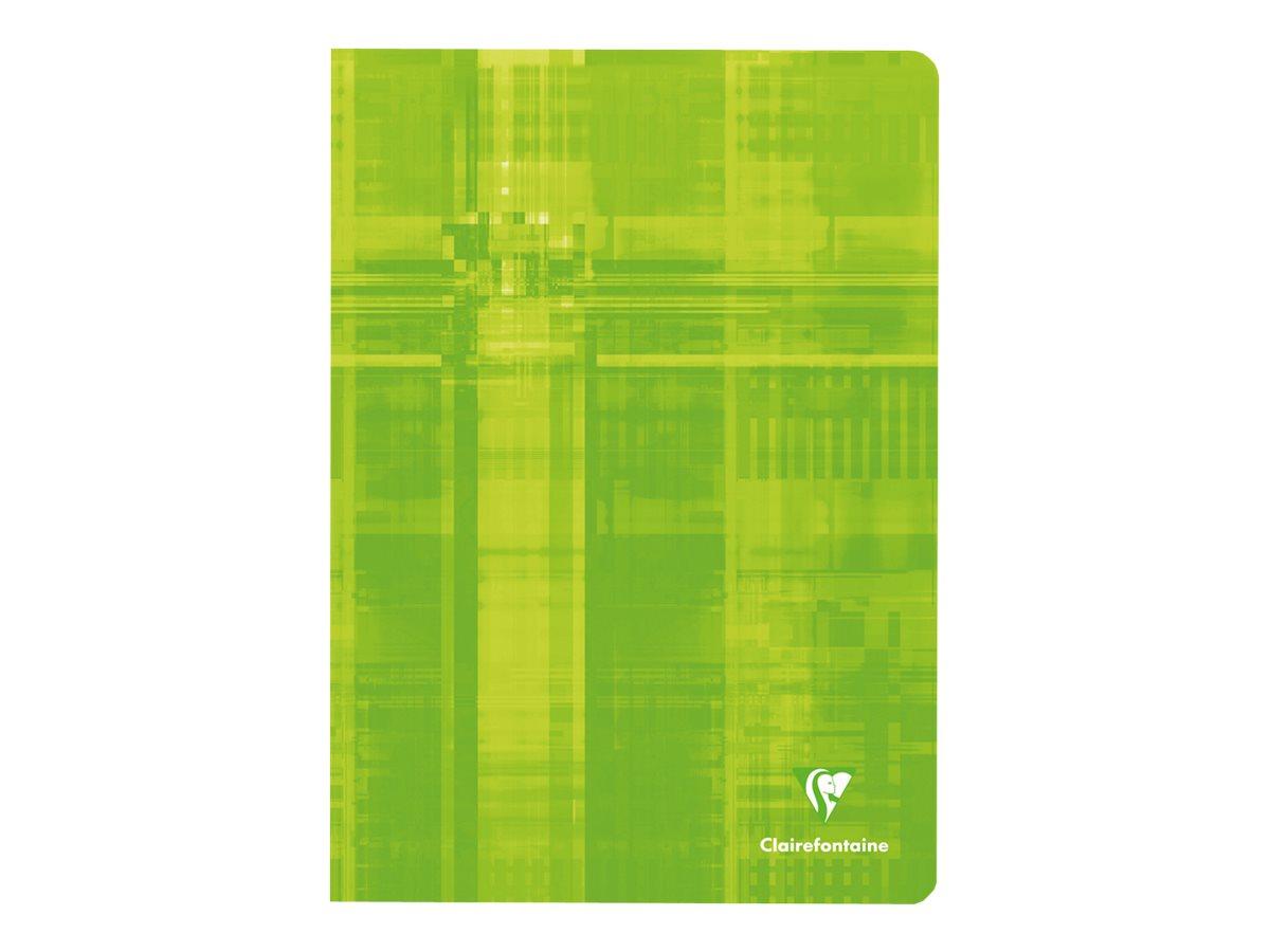 Clairefontaine - Cahier A4 (21x29,7 cm) - 96 pages - grands carreaux (Seyes) - disponible dans différentes couleurs