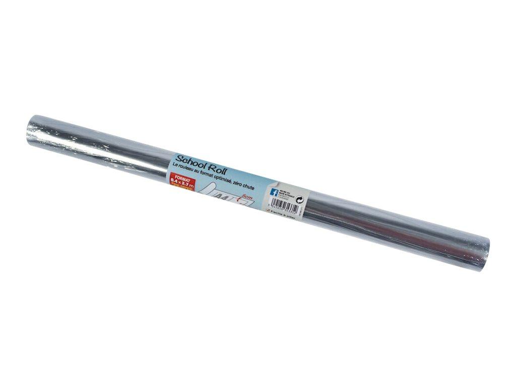 Oxford - Couverture de livre - Rouleau de 40 cm x 2,7 m - 80 µm - film PVC