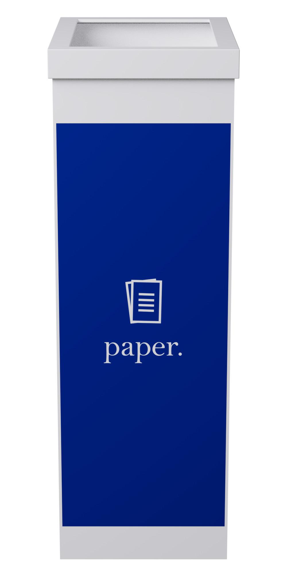 Corbeille de tri sélectif pour le papier