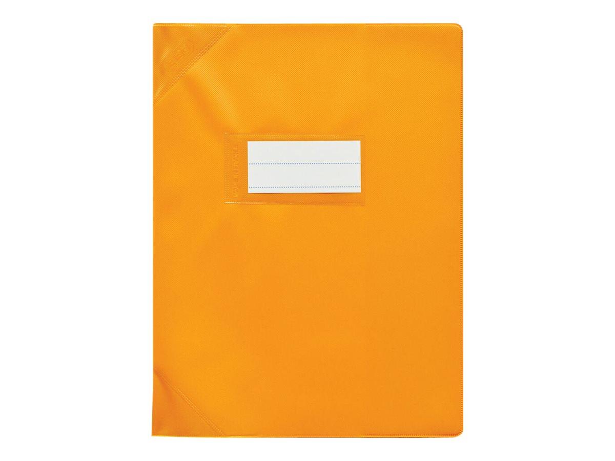 Oxford Strong Line - Protège cahier sans rabat - 17 x 22 cm - orange opaque