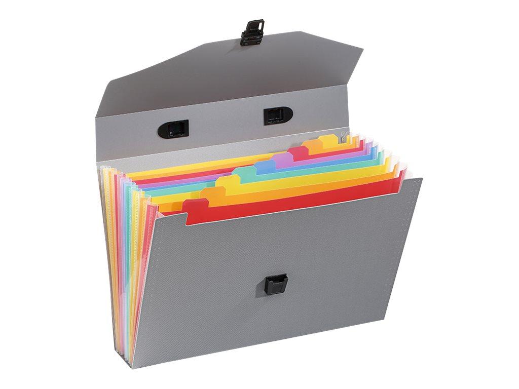 Viquel Rainbow Touch - Valisette trieur 10 onglets