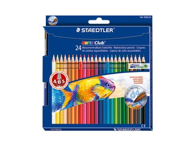 Staedtler Noris club - 24 Crayons de couleur
