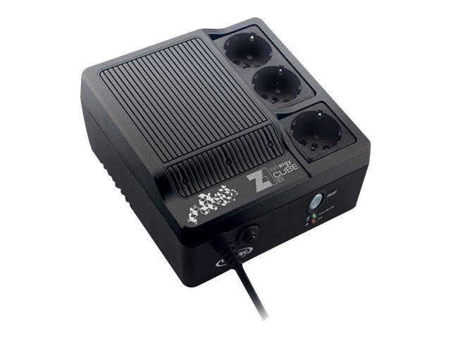 INFOSEC Zenergy EX 600 - Onduleur 3 prises - 600 VA