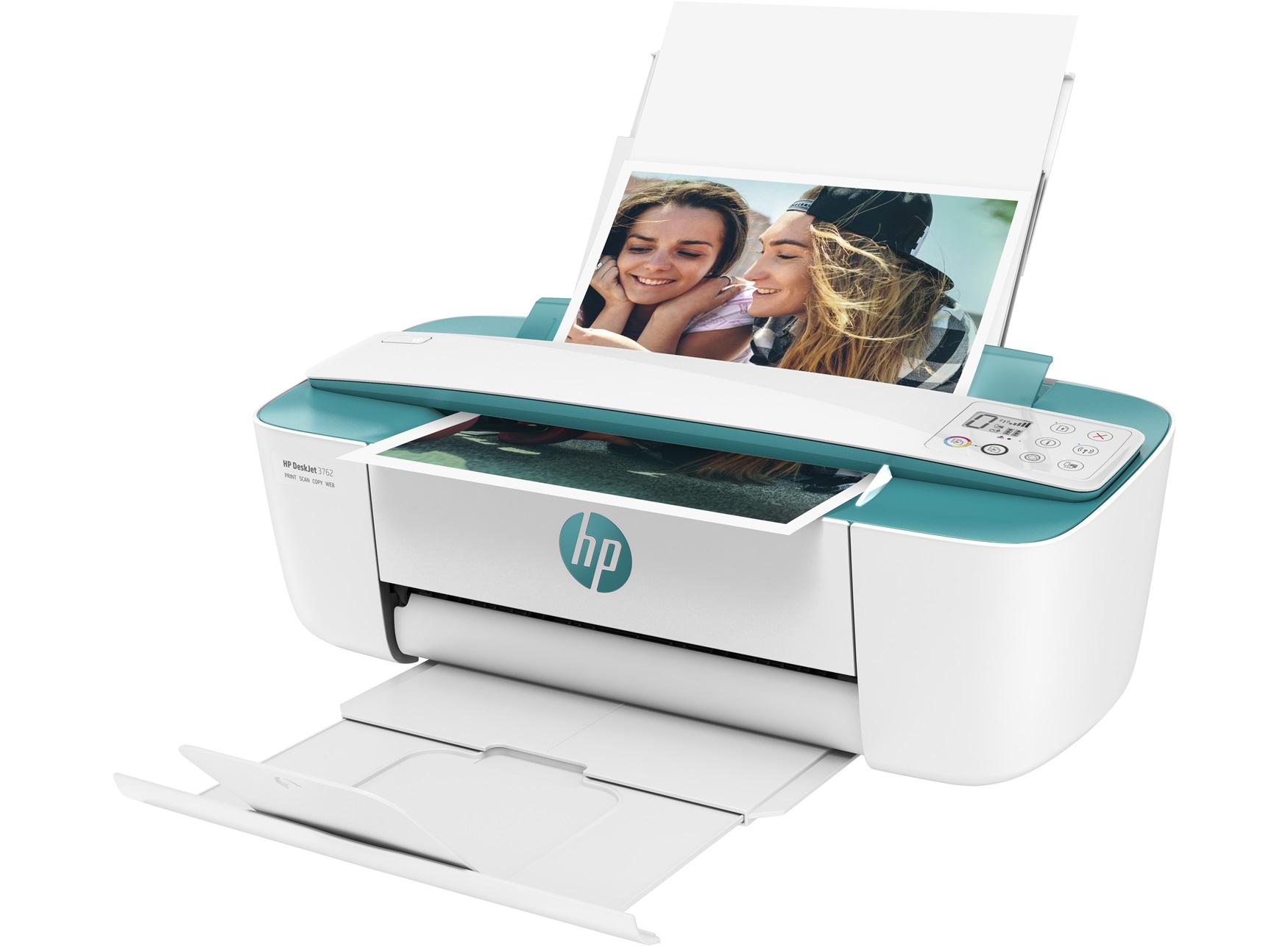 HP DeskJet 3762 All-in-One - imprimante multifonctions jet d'encre couleur A4 - Wifi - recto-verso manuel