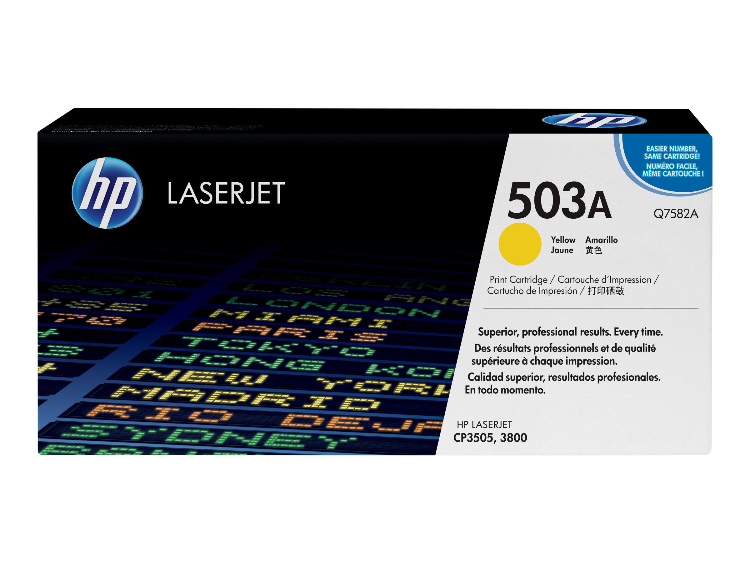 HP 503A - jaune - cartouche laser d'origine