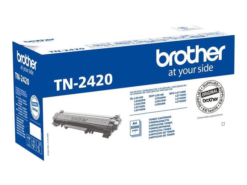 Brother TN2420 - noir - cartouche laser d'origine