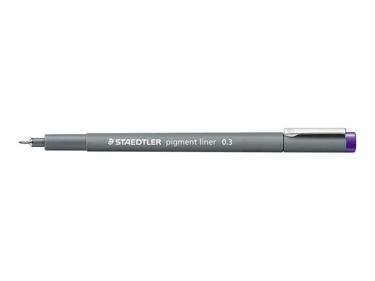 STAEDTLER pigment liner - Feutre fin - 0.3 mm - violet