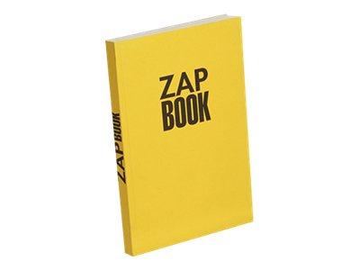 Clairefontaine Zap Book - Bloc dessin - 160 feuilles - A5 - 80 gr - blanc
