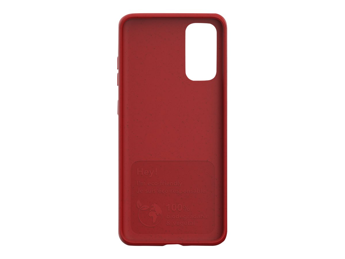 Just Green - Coque de protection pour Samsung S20 - rouge