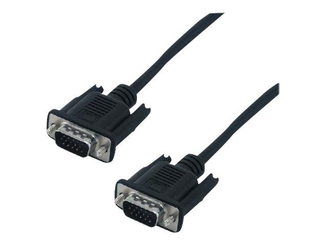MCL Samar - câble VGA HD15 (M) vers  VGA éco (M) - 2 m