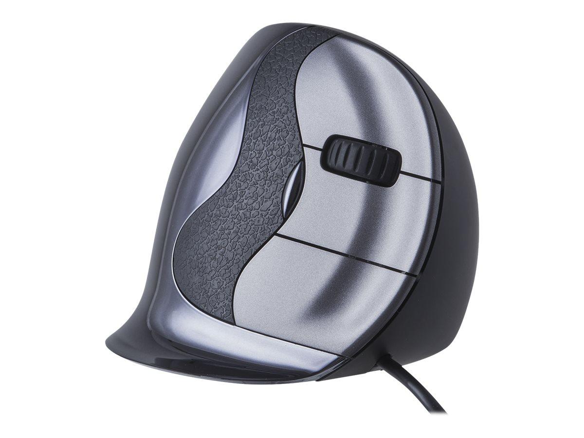 Bakker Elkhuizen Evoluent D - souris ergonomique sans fil pour droitier - taille moyenne