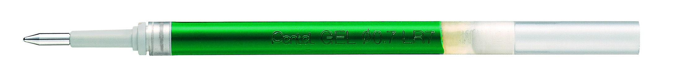 Pentel Energel - Recharge pour roller - 0,7 mm - vert