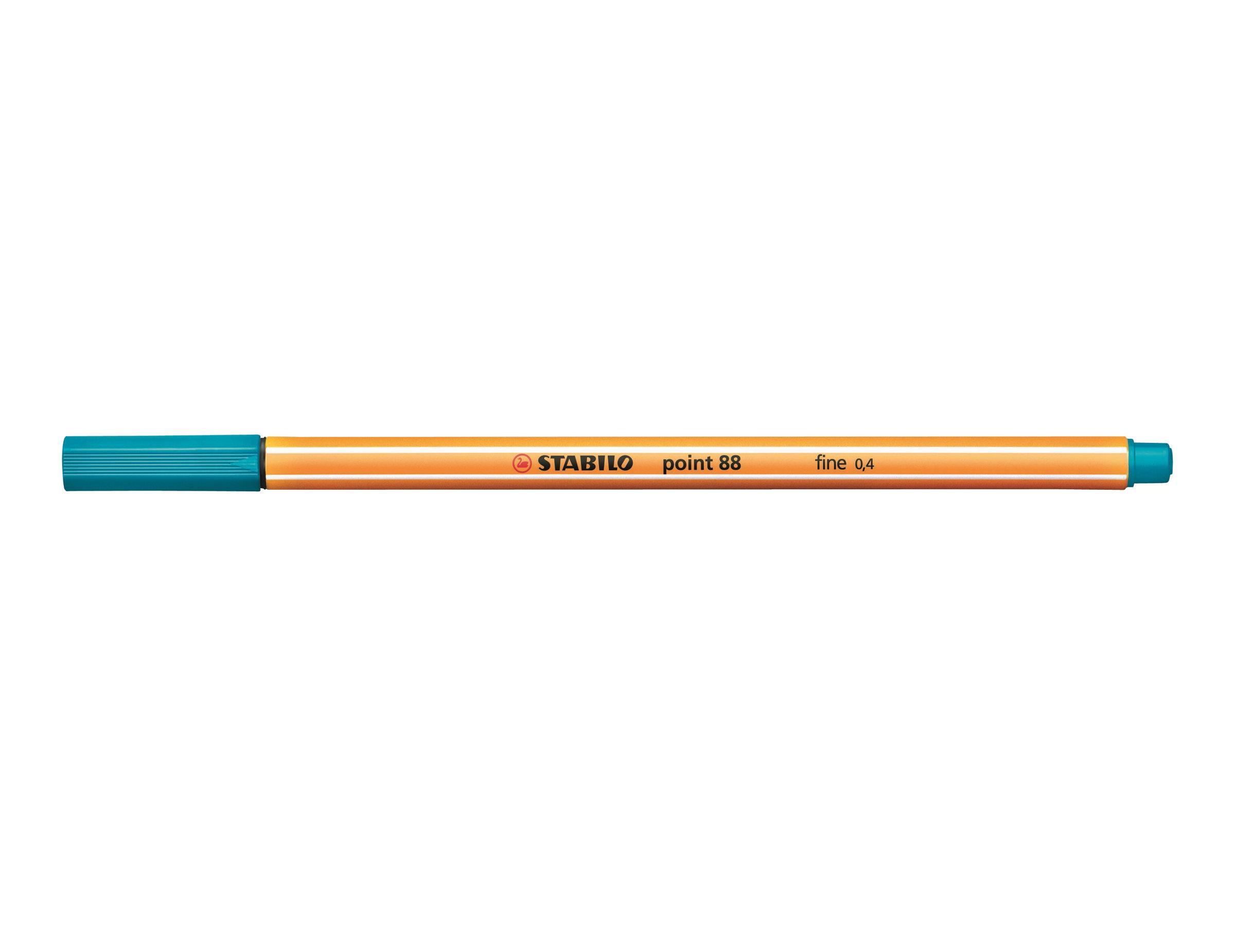 STABILO point 88 - Feutre fin - 0.4 mm - turquoise