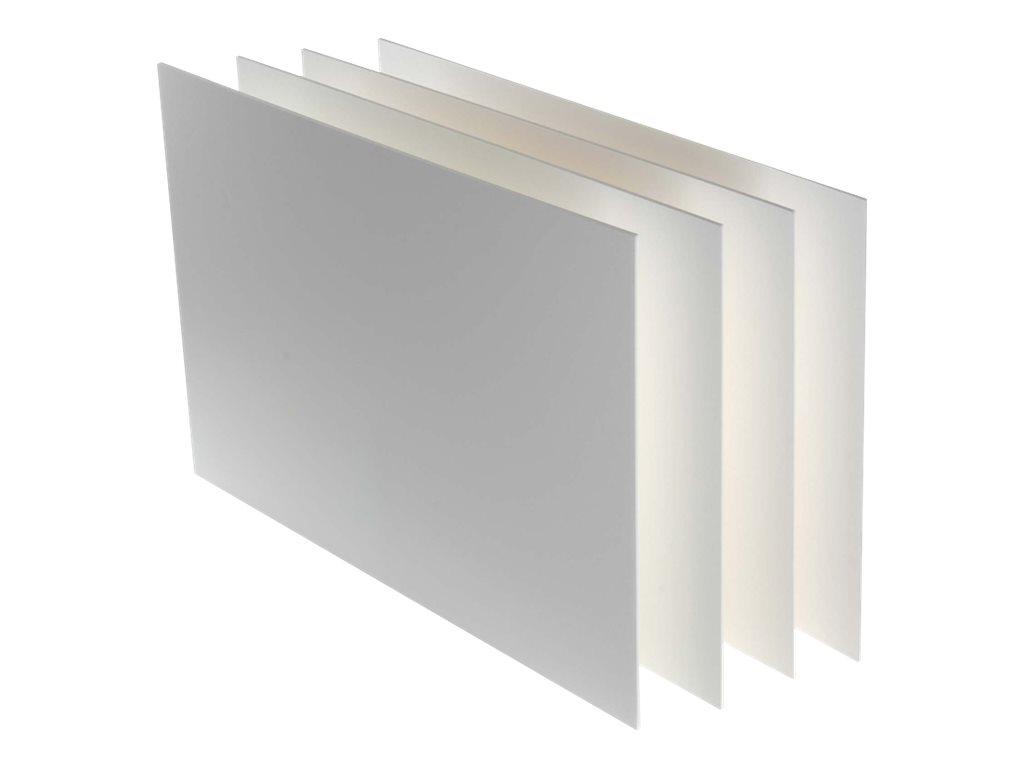 Canson Carton Plume - Carton mousse - 100 x 140 cm - blanc - 5 mm