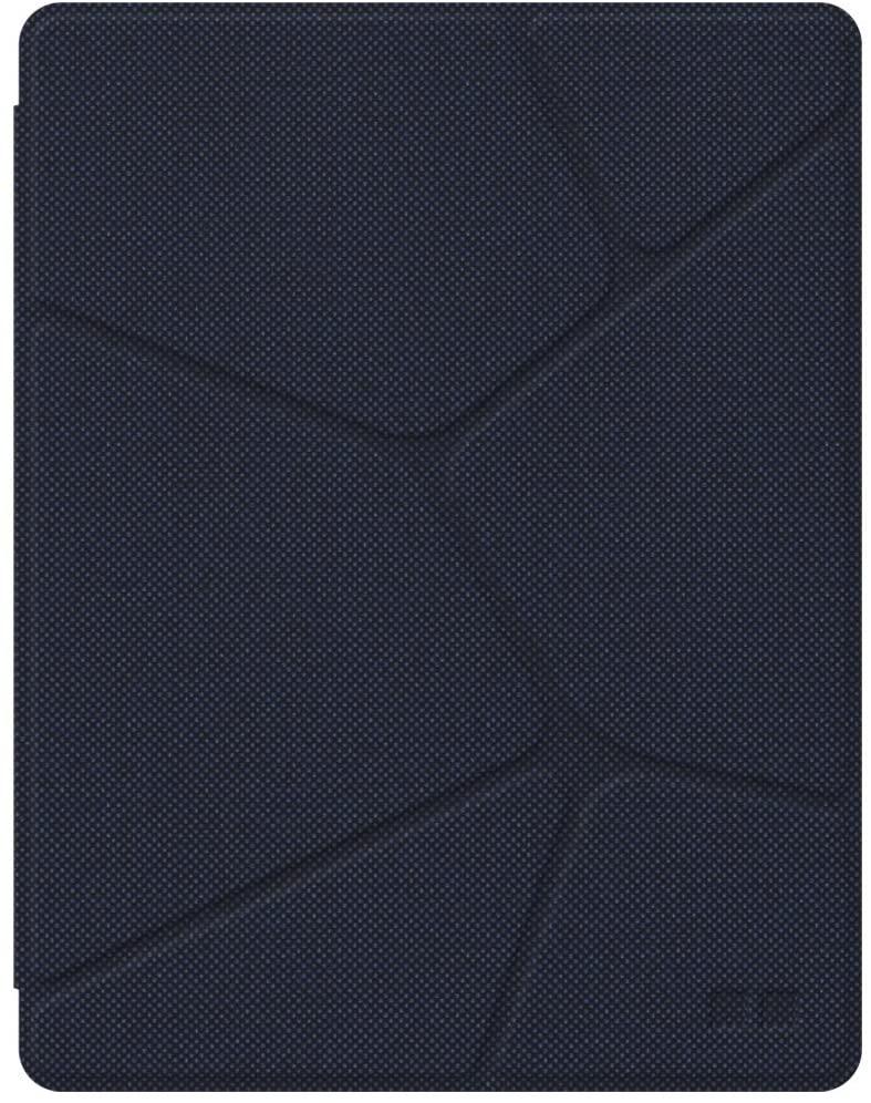 ORA ITO - Etui Folio pour iPad Air - motif organic effet matelassé bleu