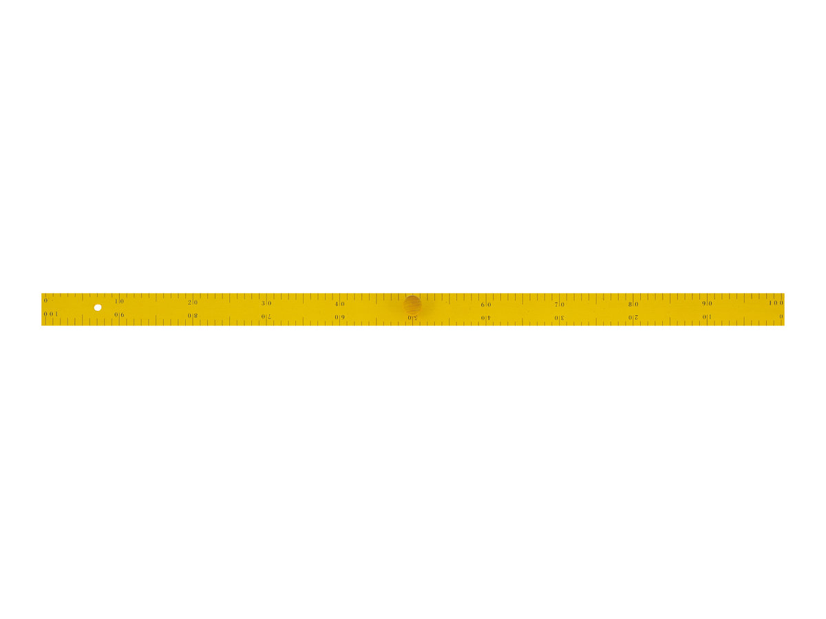 Wonday - Règle 1 m en bois - pour tableau d'instituteur