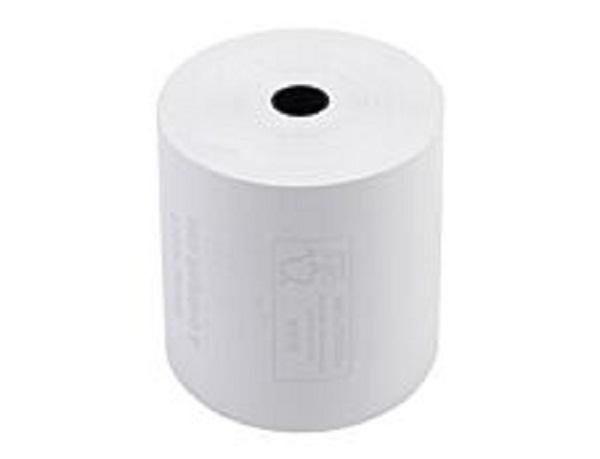 Exacompta - 10 Bobines caisses - papier thermique 57 x 80 x 12 mm - sans Bisphénol A