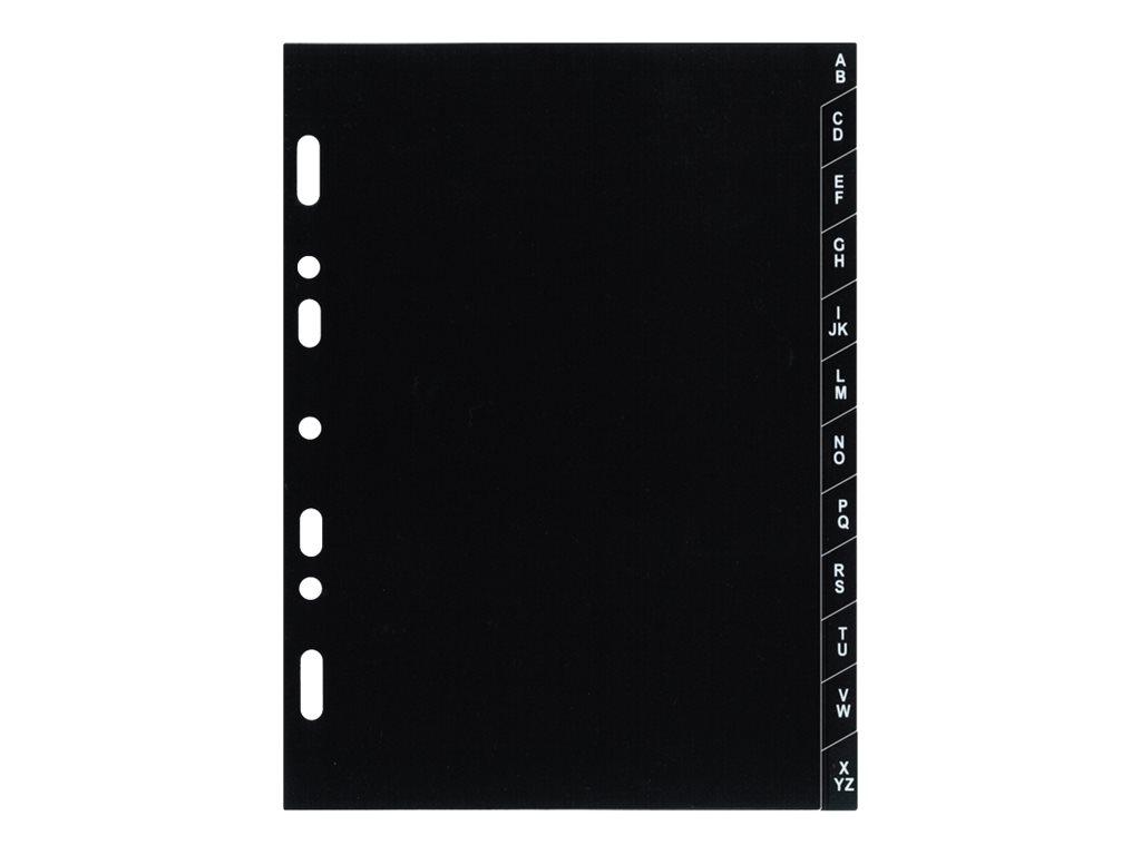 Exacompta Exatime 17 - Recharge pour organiseur - index alphabétique - 10,5 x 17,2 cm