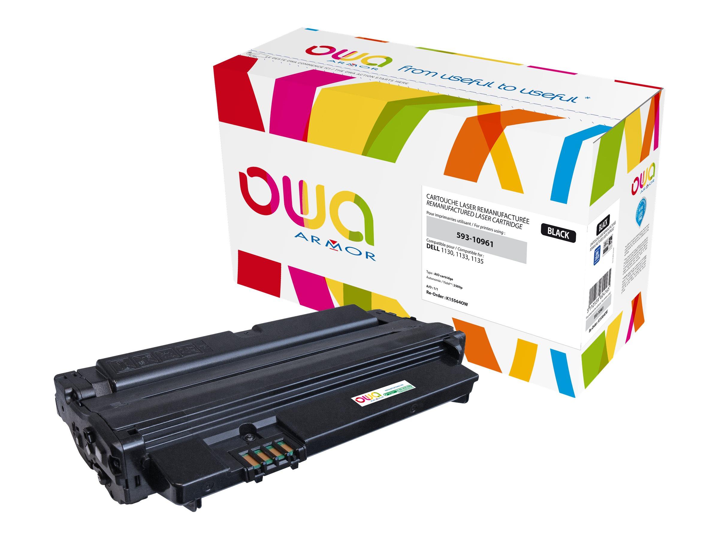 Dell 593-10961 - remanufacturé Owa K15564OW - noir - cartouche laser