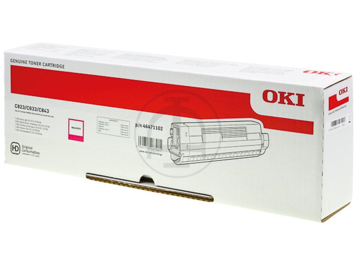 OKI 46471102 - magenta - cartouche laser d'origine