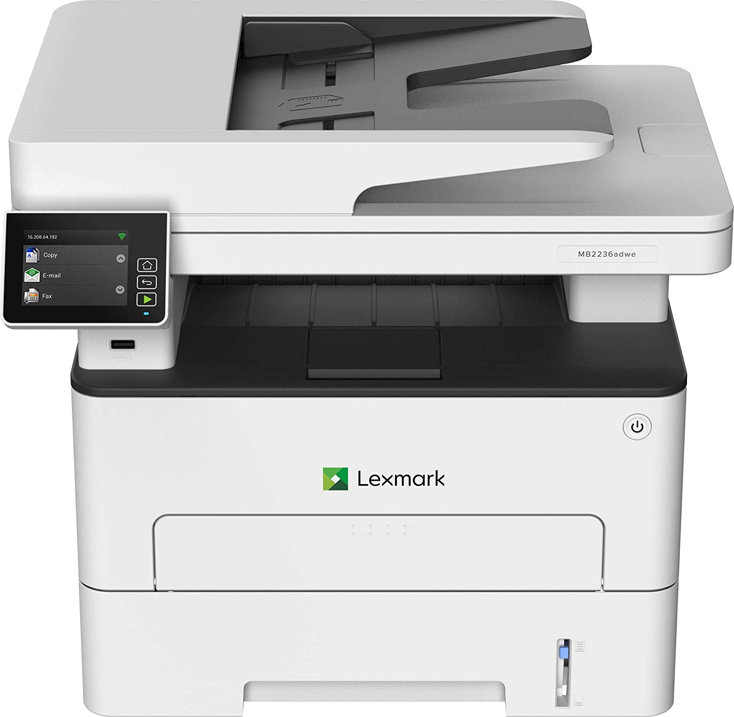 Lexmark MB2236adwe - imprimante laser multifonctions monochrome A4 - recto-verso