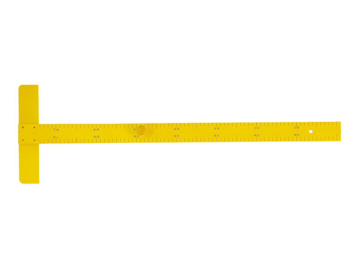 Wonday - Règle en T en bois 75 cm - pour tableau d'instituteur