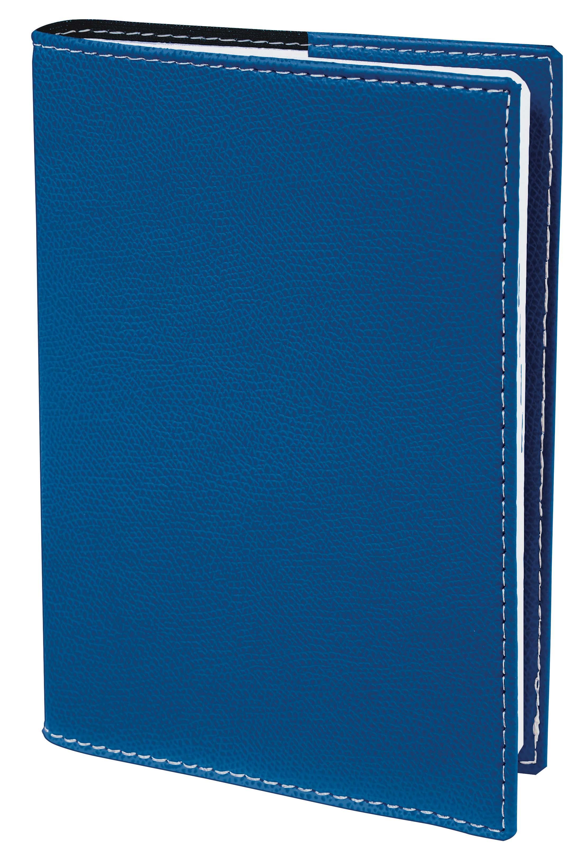 Agenda à spirale Club President - 1 semaine sur 2 pages - 21 x 27 cm - bleu roi - Quo Vadis