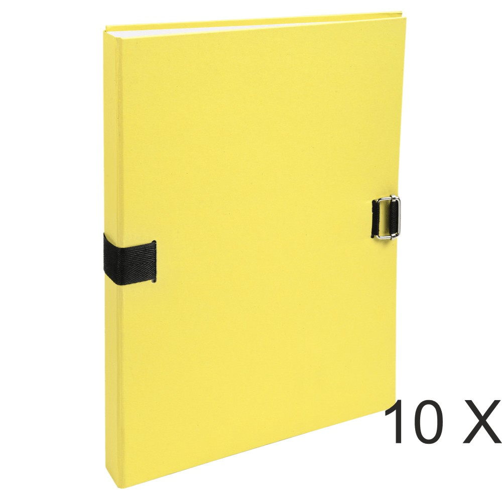 Exacompta Forever - 10 Chemises extensibles - jaune