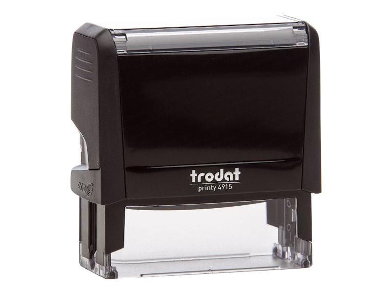 Trodat Printy 4915 - Tampon auto-encreur - 6 lignes - texte personnalisable