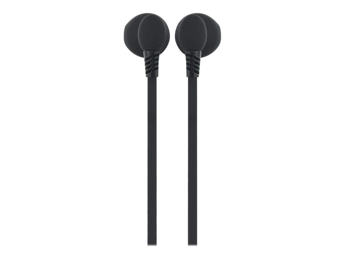 BigBen - Kit main libre - écouteurs filaire avec micro - intra-auriculaire - noir