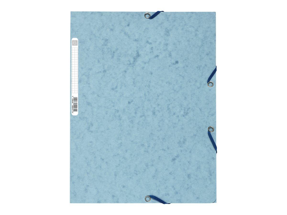 Exacompta Nature Future - Chemise à 3 rabats - A4 - pour 250 feuilles - gris clair