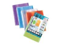 Oxford Polyvision - Porte vues personnalisable - 160 vues - A4 - disponible dans différentes couleurs translucides