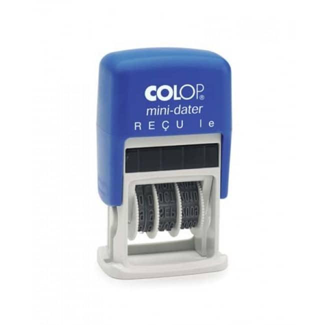 Colop - Tampon Dateur bicolore S160 - Reçu le