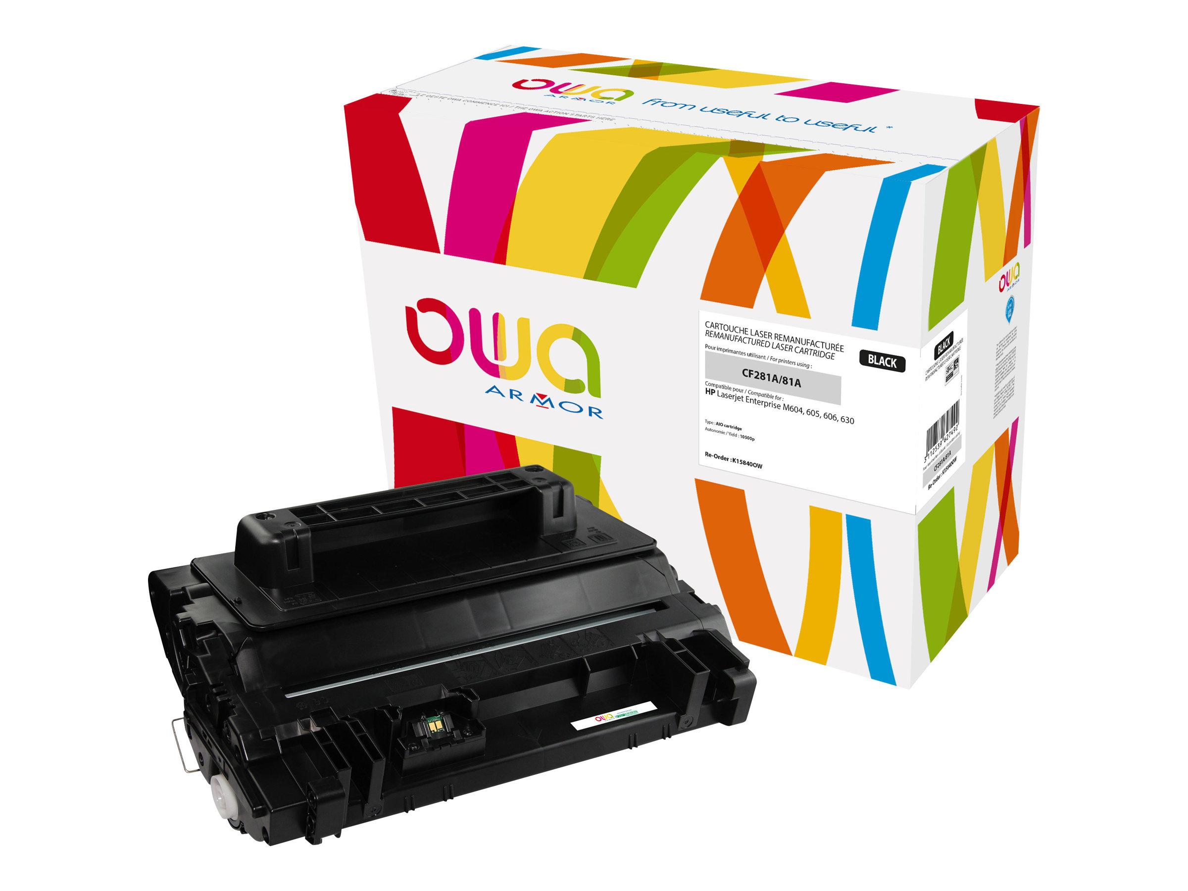 HP 81A - remanufacturé Owa K15840OW - noir - cartouche laser