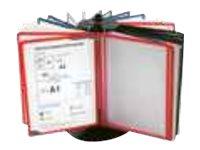 Promocome - Lutrin de comptoir rotatif en métal - vendu sans les pochettes