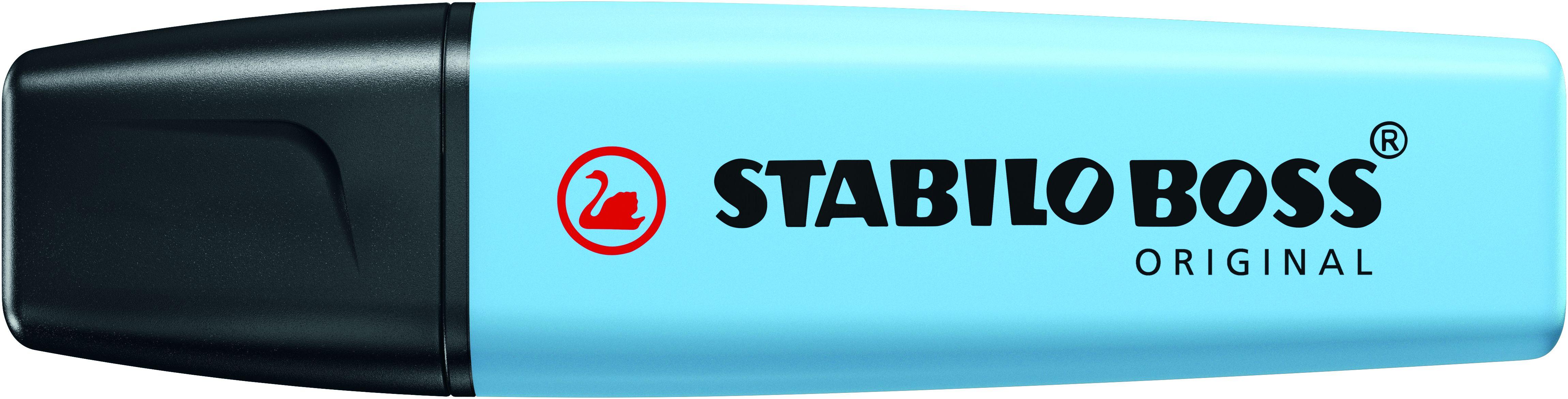 STABILO BOSS ORIGINAL Pastel - Surligneur - fraicheur de bleu