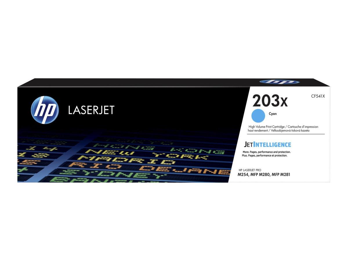 HP 203X - cyan - cartouche laser d'origine