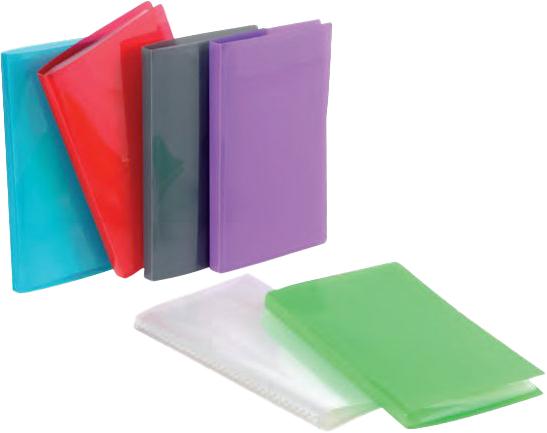 Viquel Propyglass - Porte vues - 200 vues - A4 - disponible dans différentes couleurs