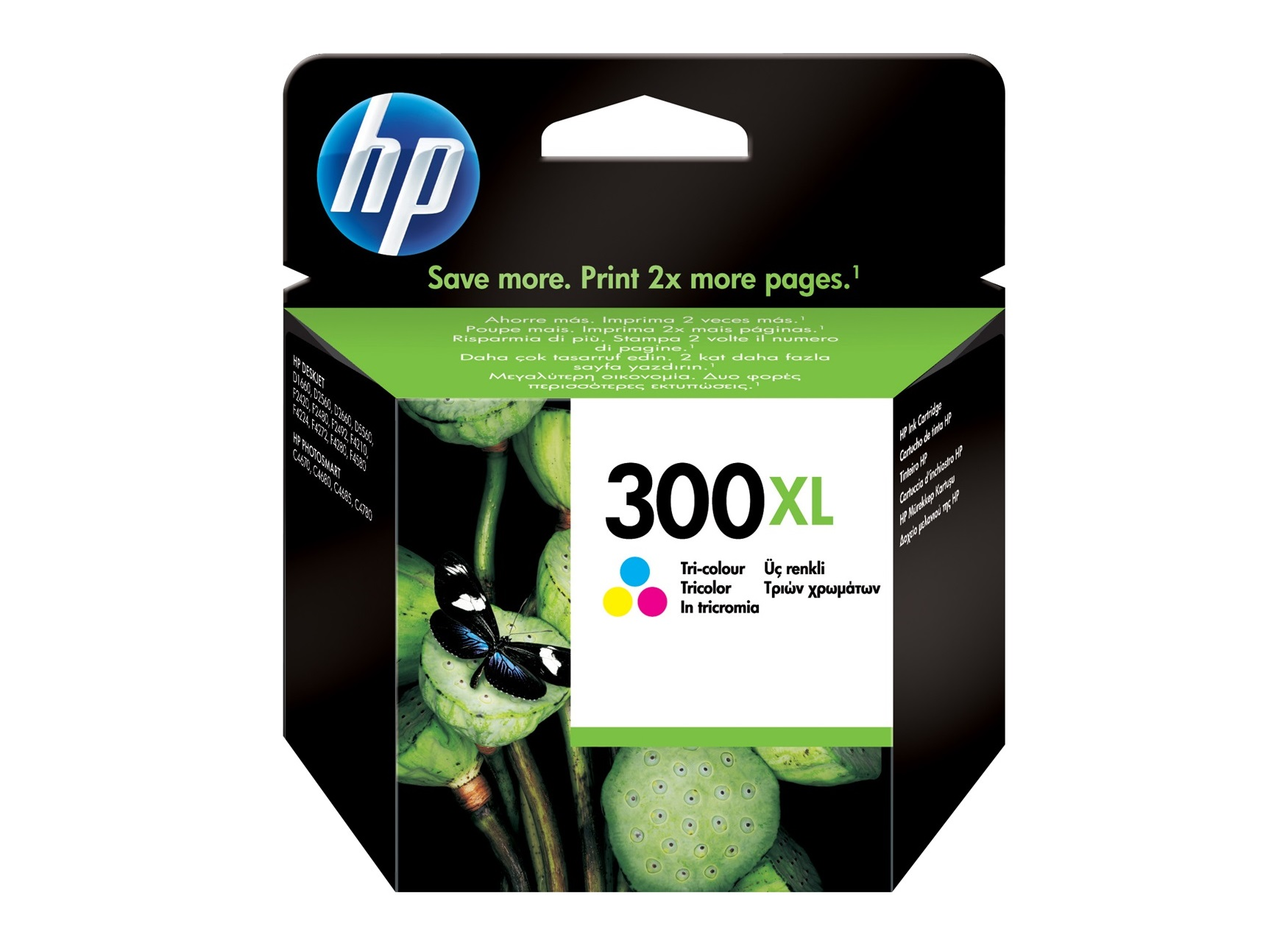 HP 300XL - cyan, magenta, jaune - cartouche d'encre originale