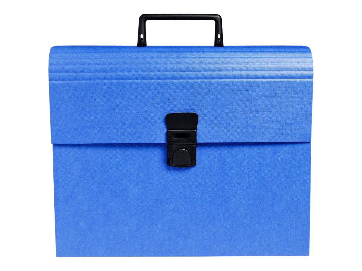 Exacompta Iderama - Classeur ménager (valisette trieur) 12 onglets - disponible dans différentes couleurs