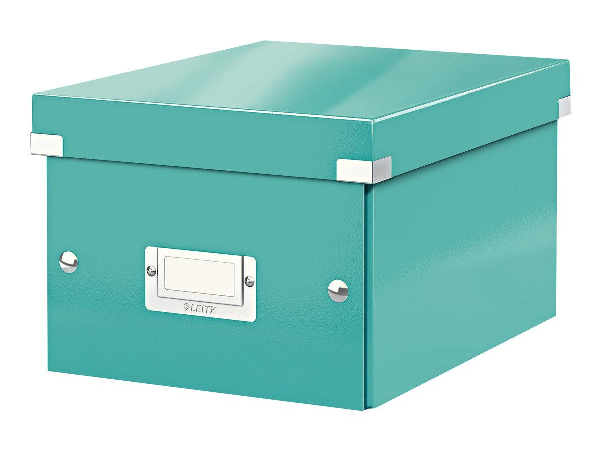 Leitz Click & Store - Boîte de rangement A5 - bleu iceberg