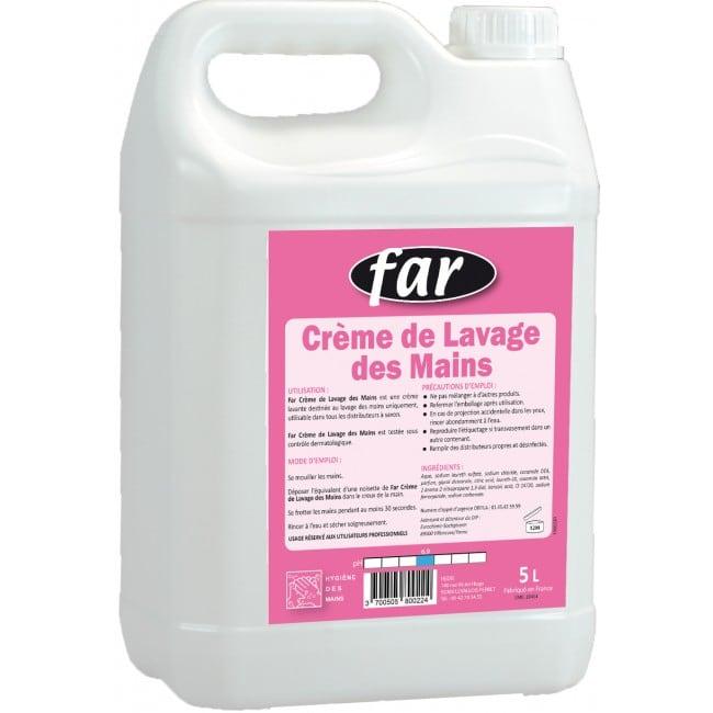 Far - Crème lavante parfumée pour les mains - 5L