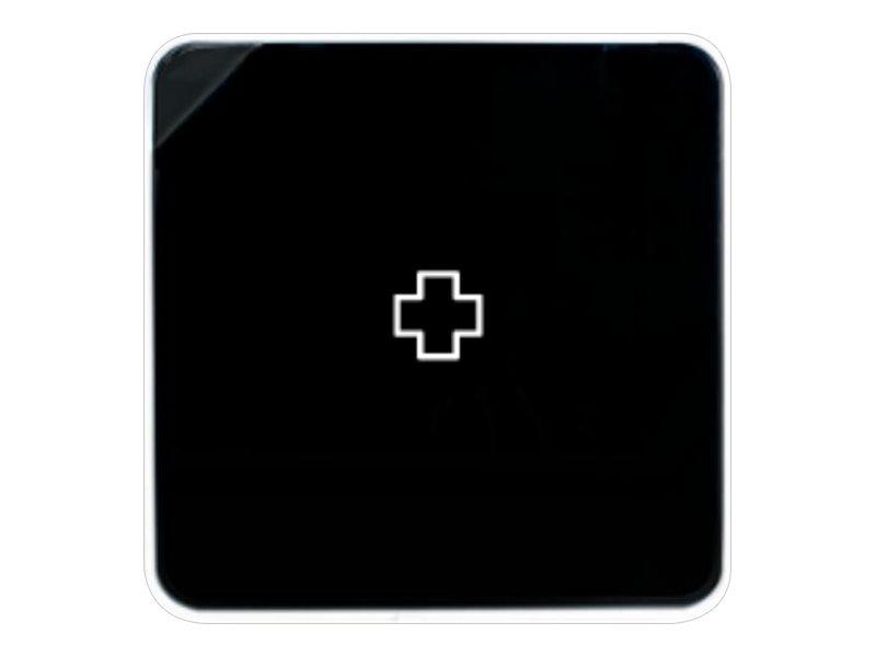 Armoire à pharmacie MultiBox - 32 x 70 x 32 cm - 4 étagères - noir