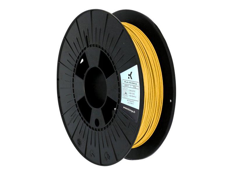 OWA - Filament 3D PLA-Hi - jaune - Ø 1,75 mm - 250g