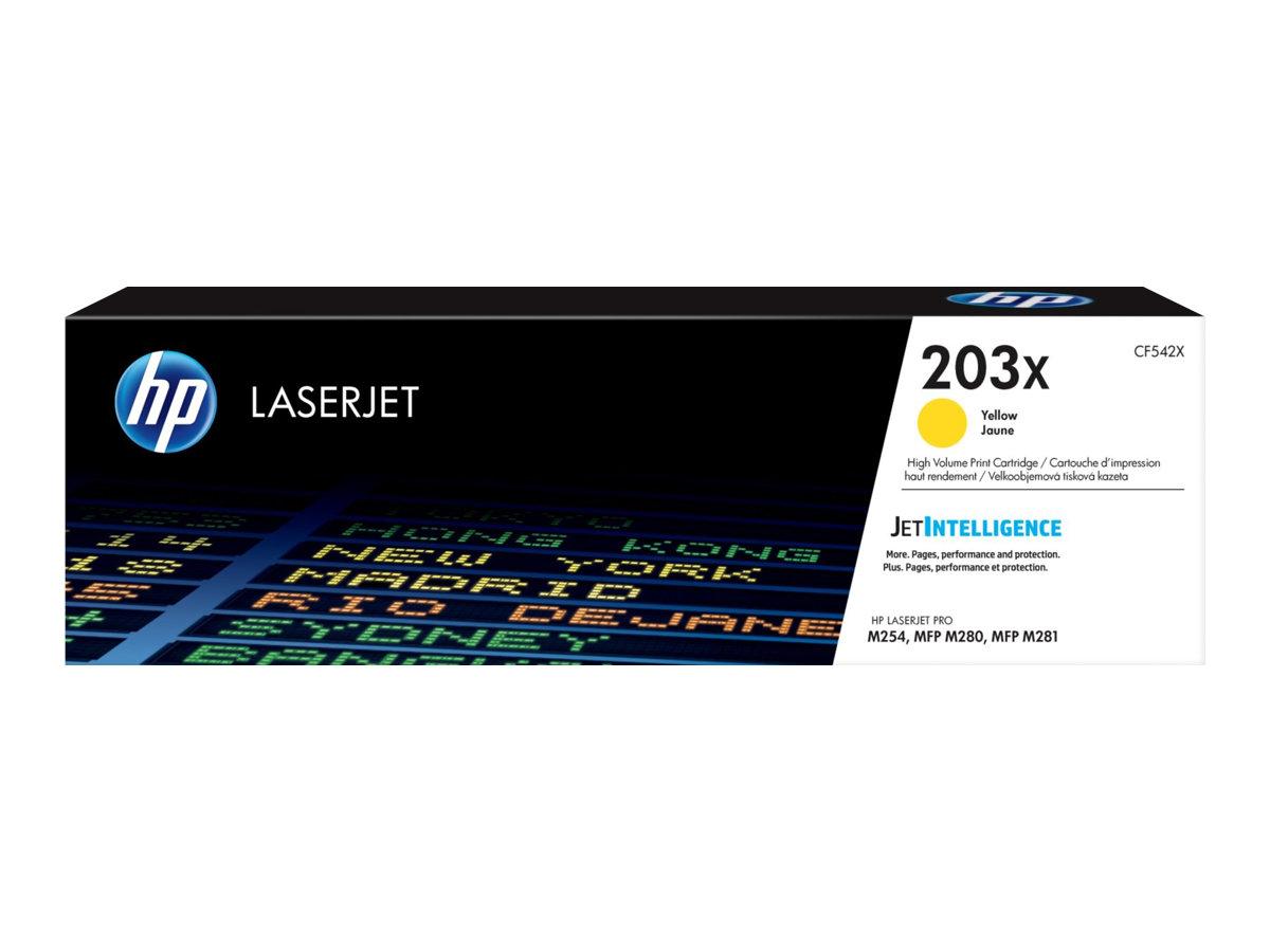 HP 203X - jaune - cartouche laser d'origine