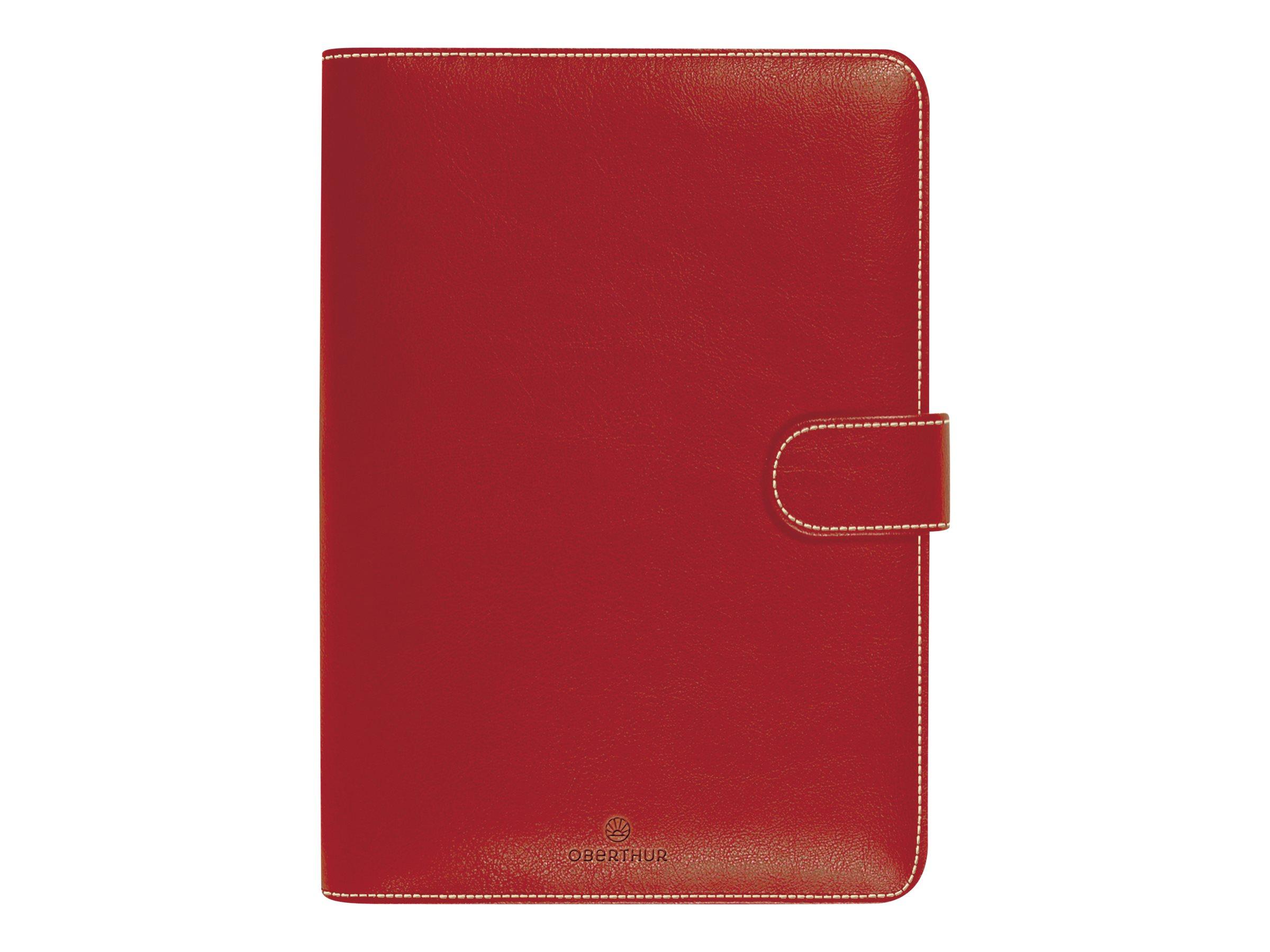 Milano - Organiseur rouge - 14 x 18,5 cm - Oberthur