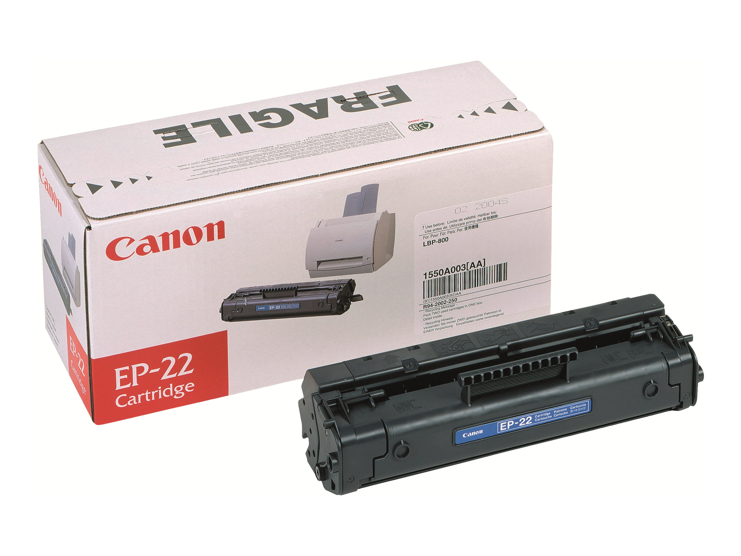Canon EP-22 - noir - cartouche laser d'origine