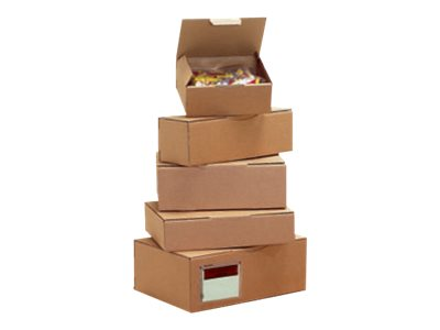 Carton Plus - Boîte postale d'expédition - 18 cm x 10 cm x 5 cm - kraft brun