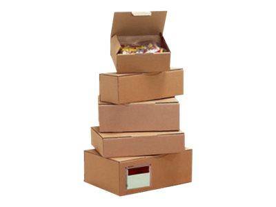 Carton Plus - Boîte postale d'expédition - 12 cm x 10 cm x 8 cm - kraft brun