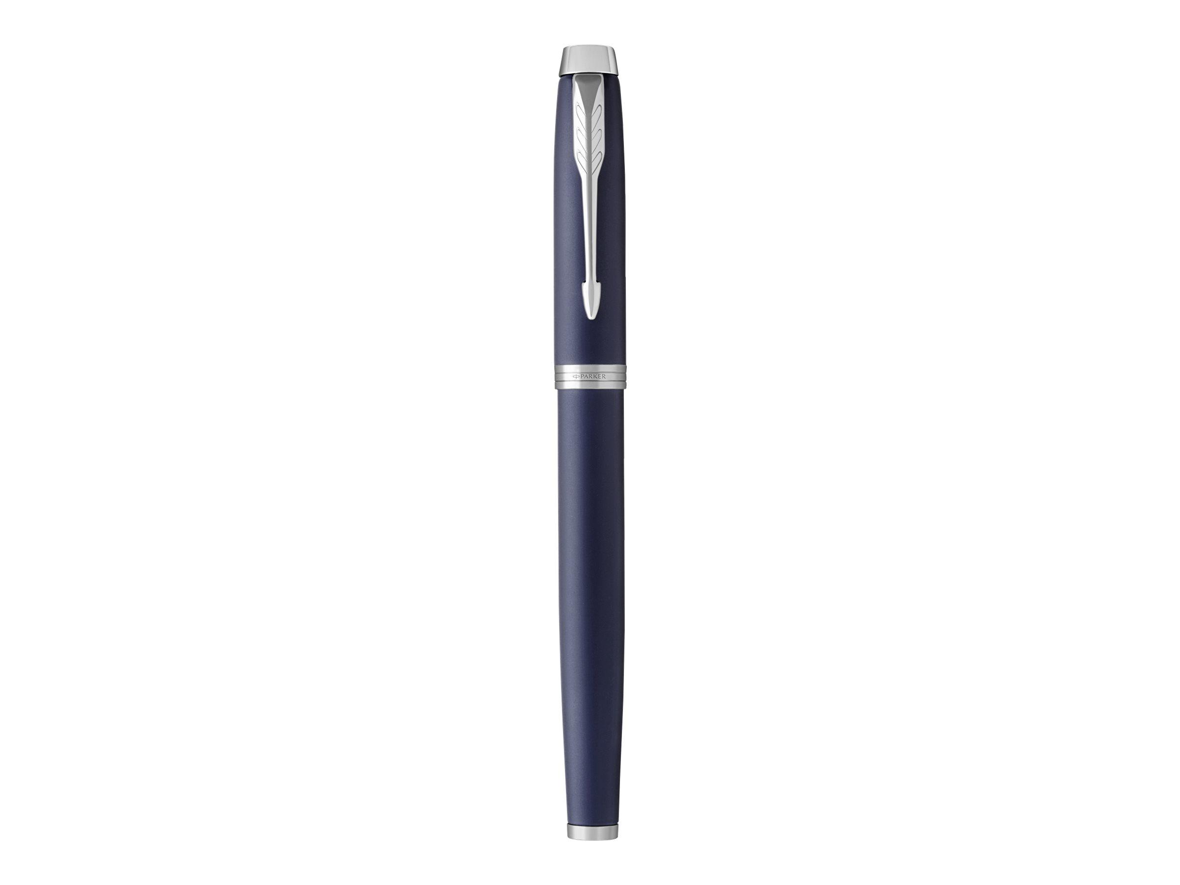Parker IM - Stylo plume bleu - pointe moyenne